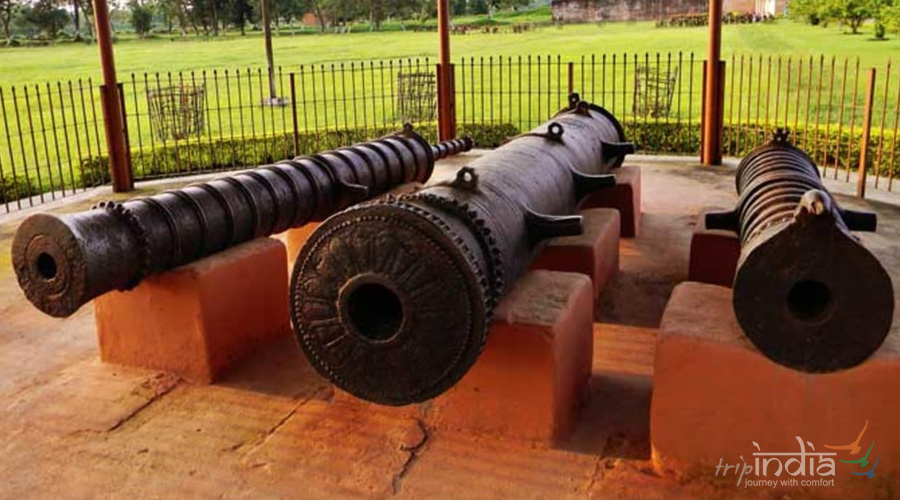 Eight Cannons of the Ahom Period
