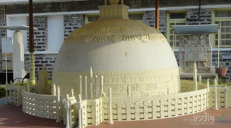 Mahachaitya or Maha Stupa at Amaravati