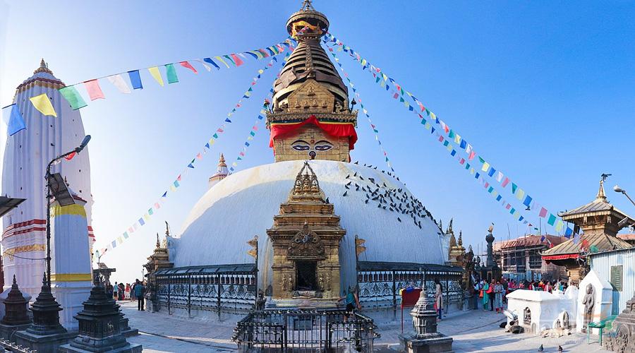 Stupa and Monastery of The Sakyas